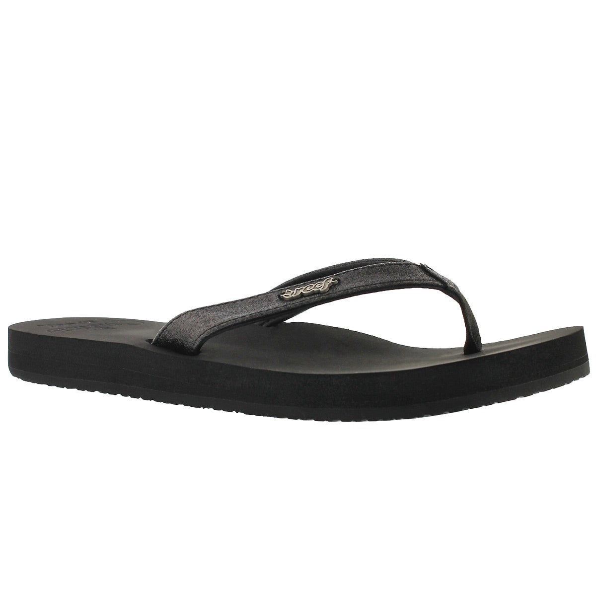Women's STAR CUSHION black flip flops