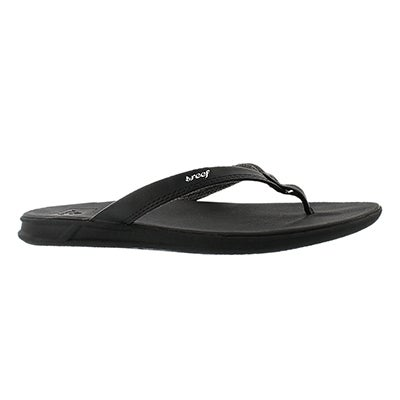 Reef Women's REEF ROVER CATCH black thong sandals