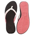 Lds Reef Rover Catch bn/wht thong sandal