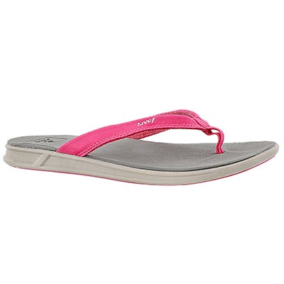 Reef Women's REEF ROVER CATCH grey/pink thong sandals