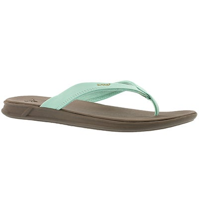 Lds Reef Rover Catch mint thong sandal
