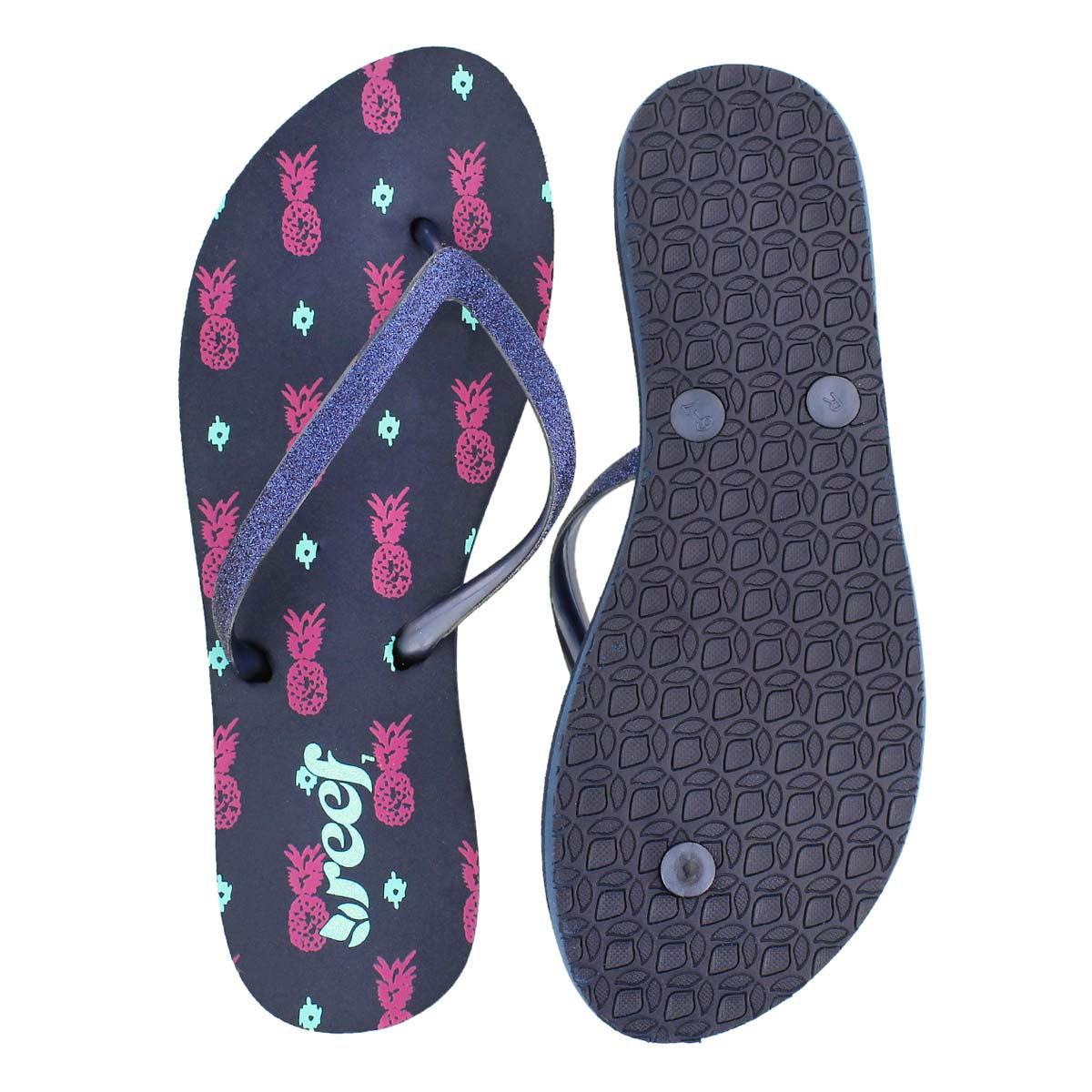 Sandale tong STARGAZER PRINTS,marine,fem