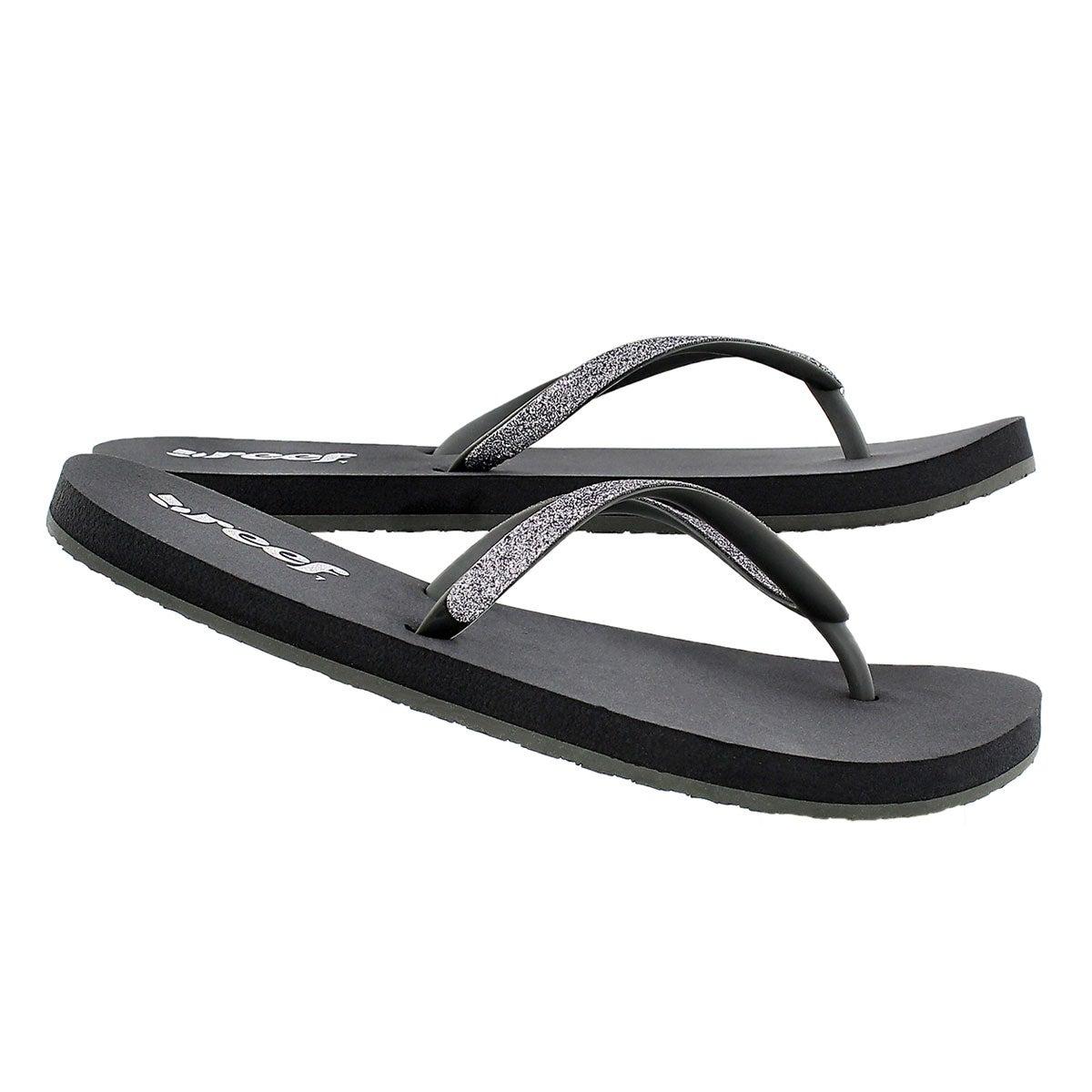 Sandale tong Stargazer, gris foncé, fem