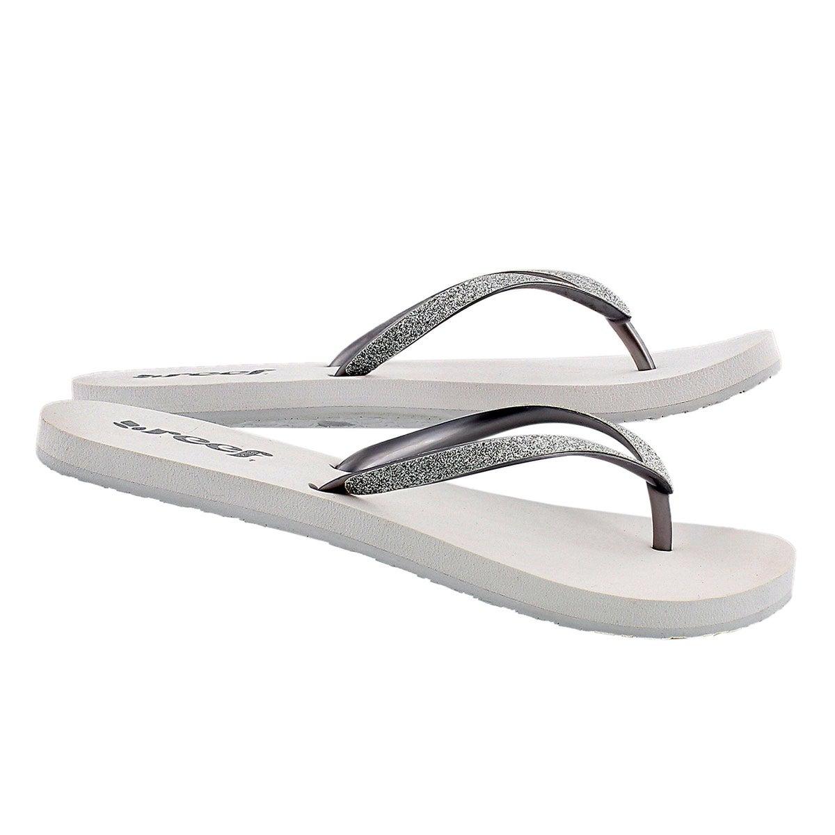 Sandale tong STARGAZER, blanc/arg., fem