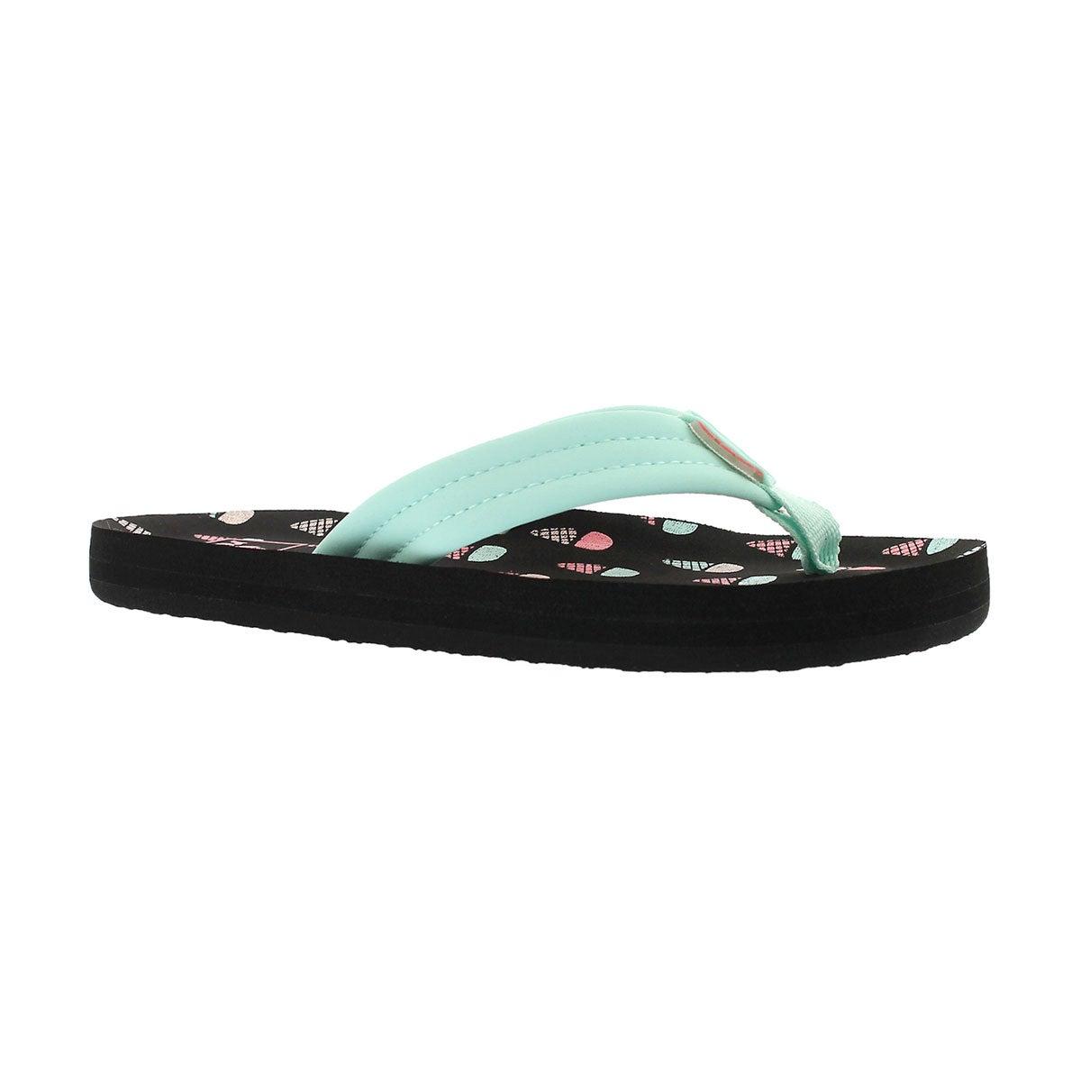 Girls' LITTLE AHI ice cream flip flops