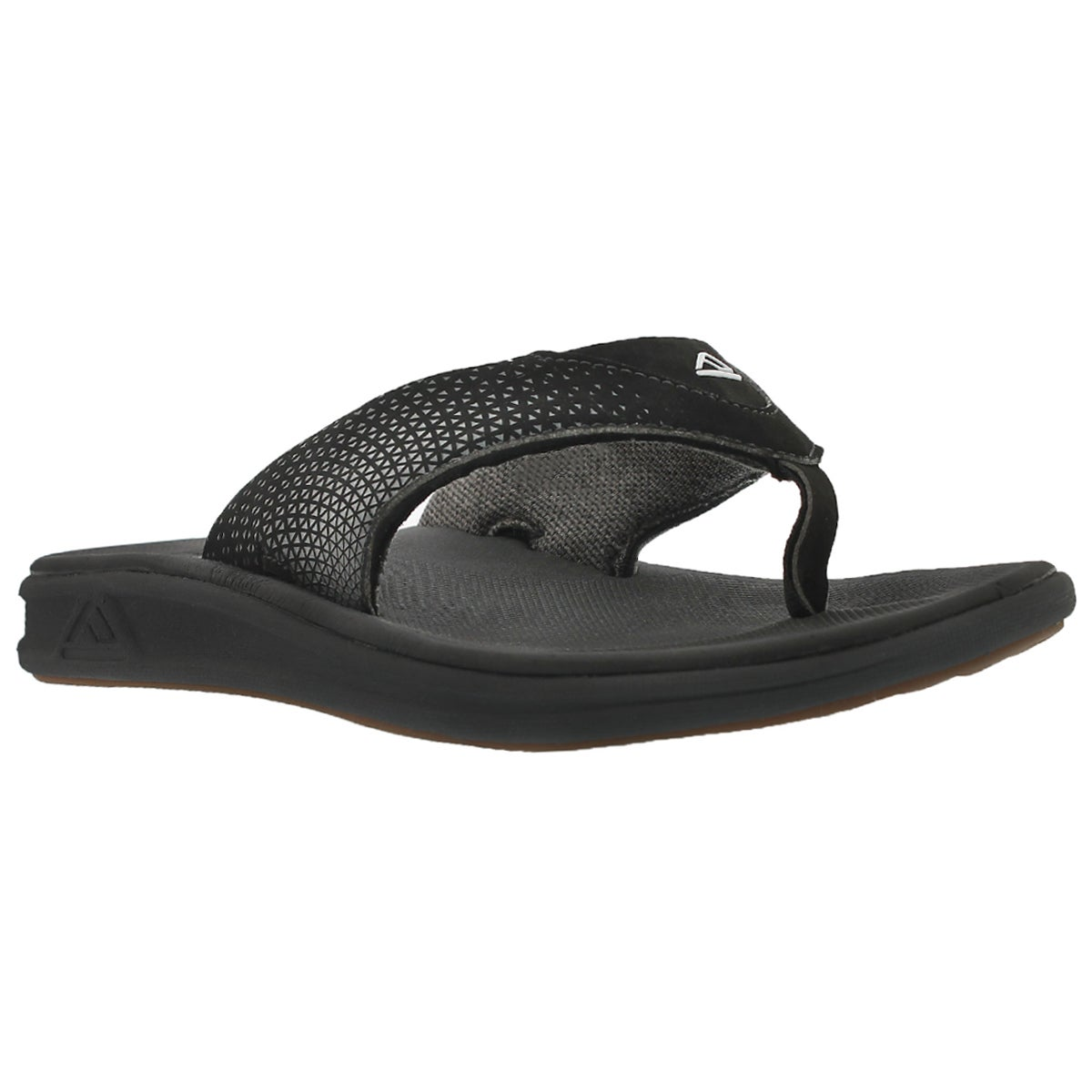 Men's REEF ROVER black thong sandals