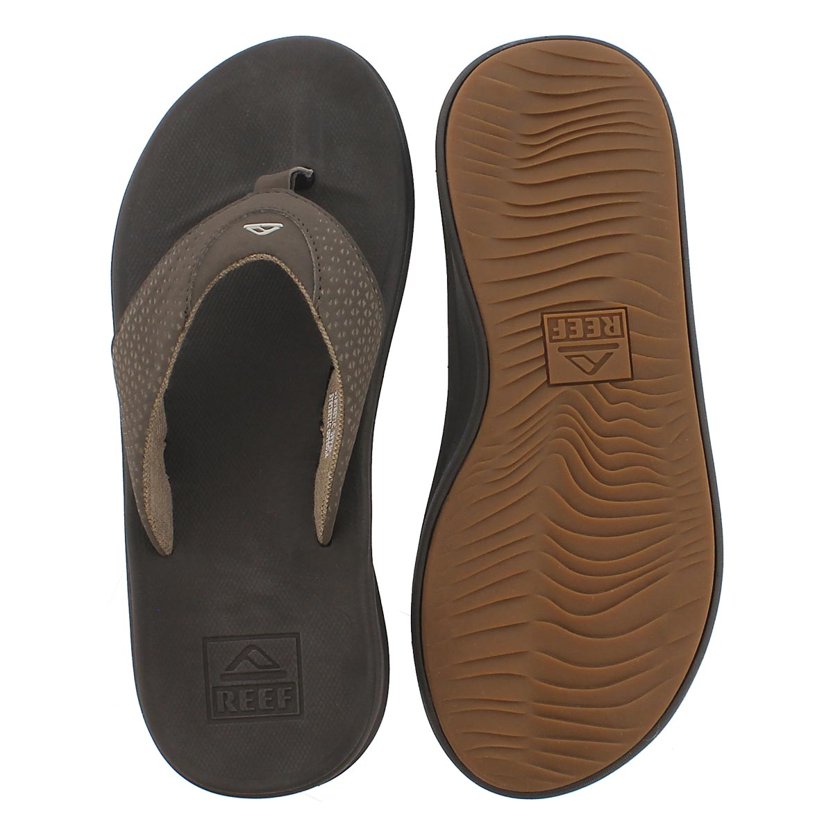 Mns Reef Rover brown thong sandal