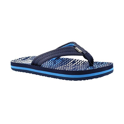 Bys AHI blue horizon waves flip flop