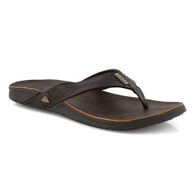 Mns J-Bay III drk brn thong sandal