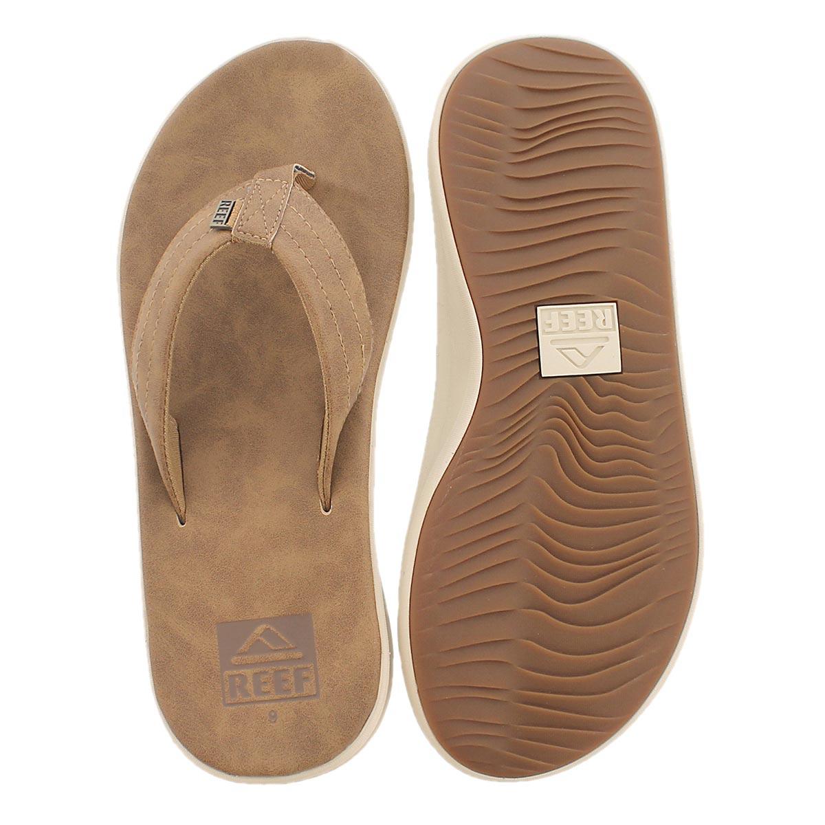 Mns Reef Rover SL brz/brn thong sandal