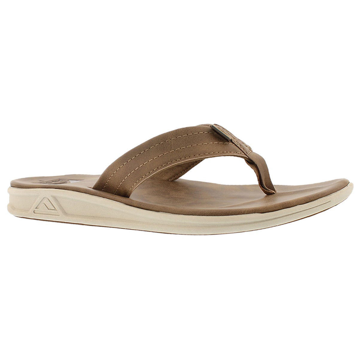 Men's REEF ROVER SL bronze/brown thong sandals