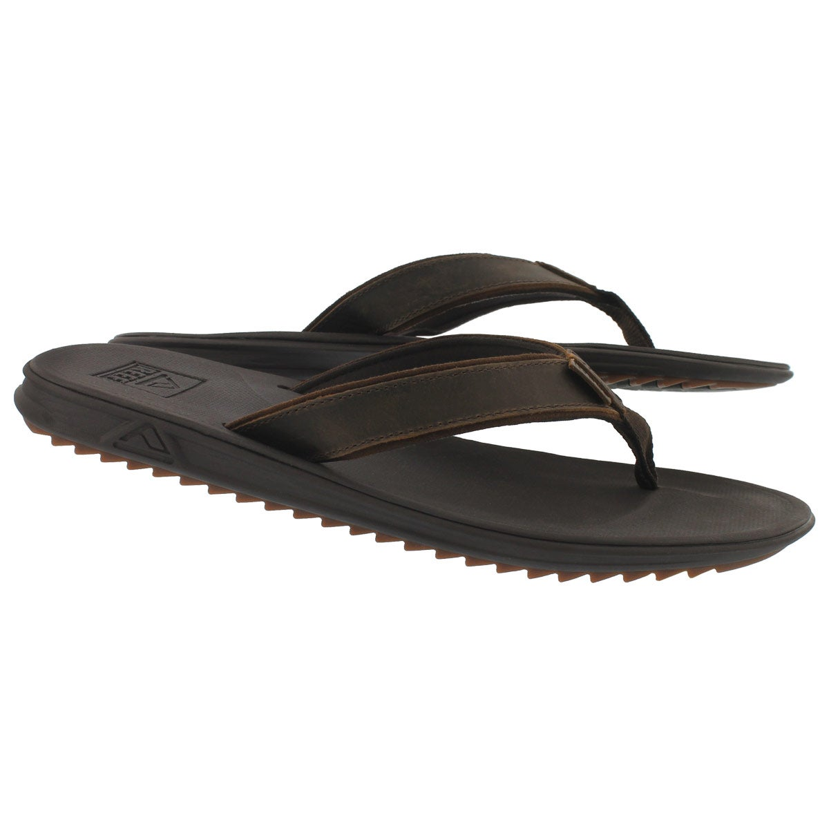 Mns Slammed Rover Lux brown thong sandal