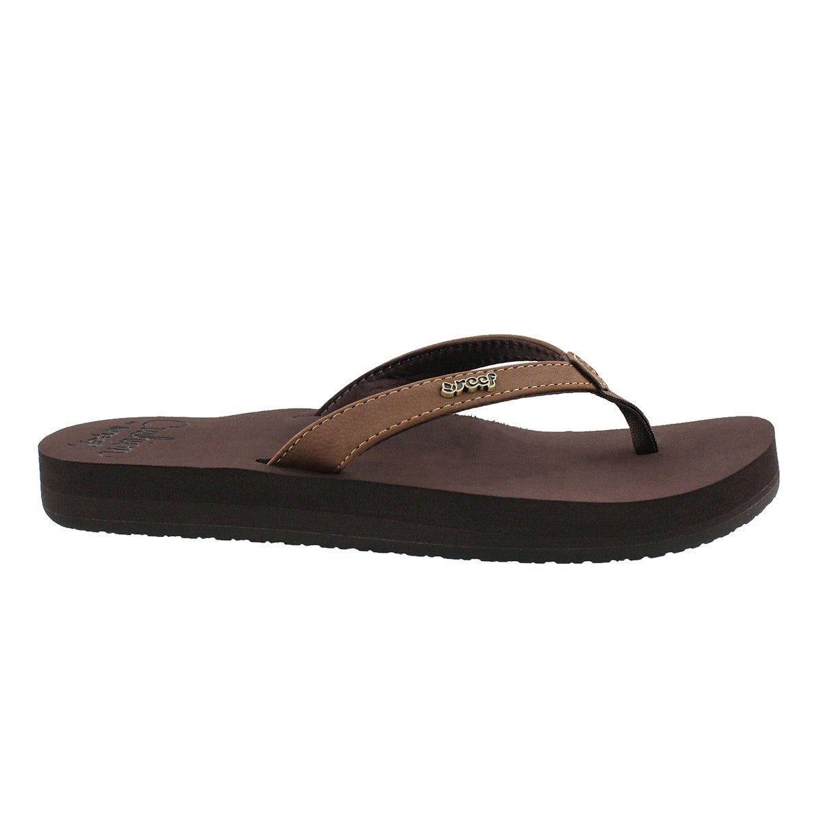 Lds Cushion Luna brown flip flop