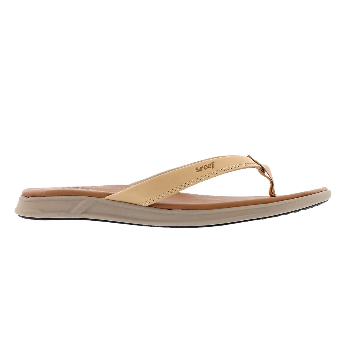 Lds Reef Rover Catch LE nat thong sandal