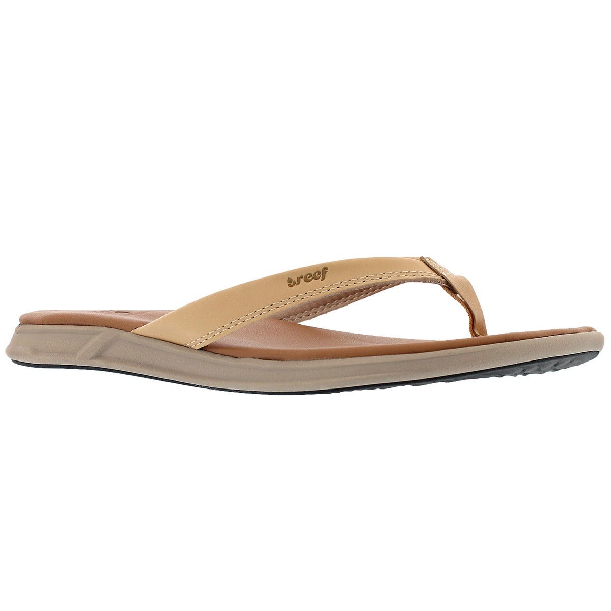 Women's REEF ROVER LE natural  thong sandals