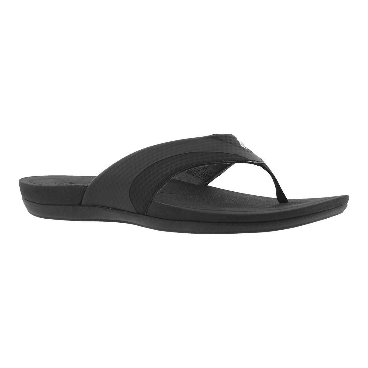 Women's ENERGY II black thong sandal