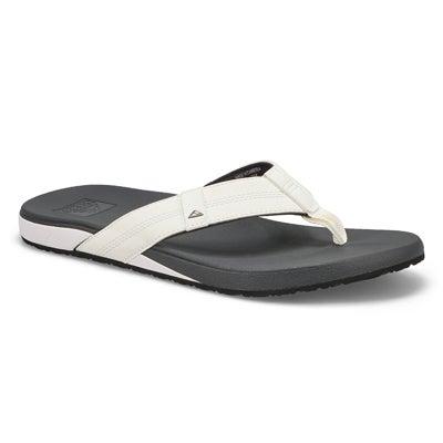 Sandale,CushionBouncePhantom,blanc,homme