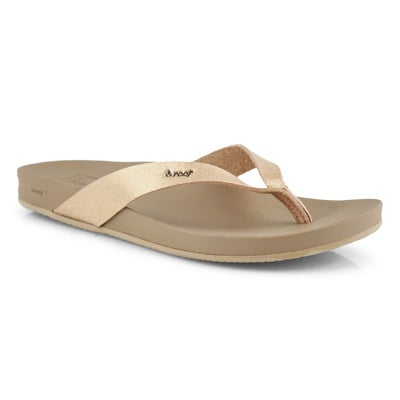 Sand. plage CushionBounceCourt rs or fem