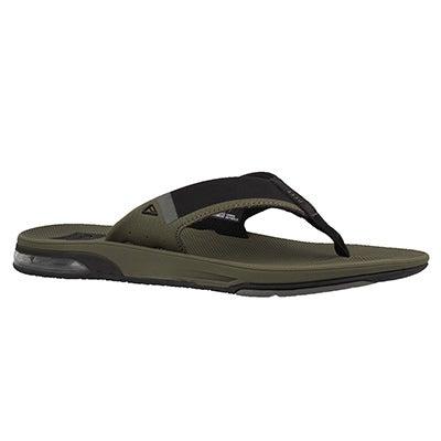 Mns Fanning 2.0 olive thong sandal