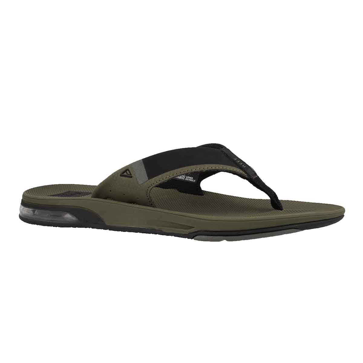 Men's FANNING 2.0 olive thong sandal
