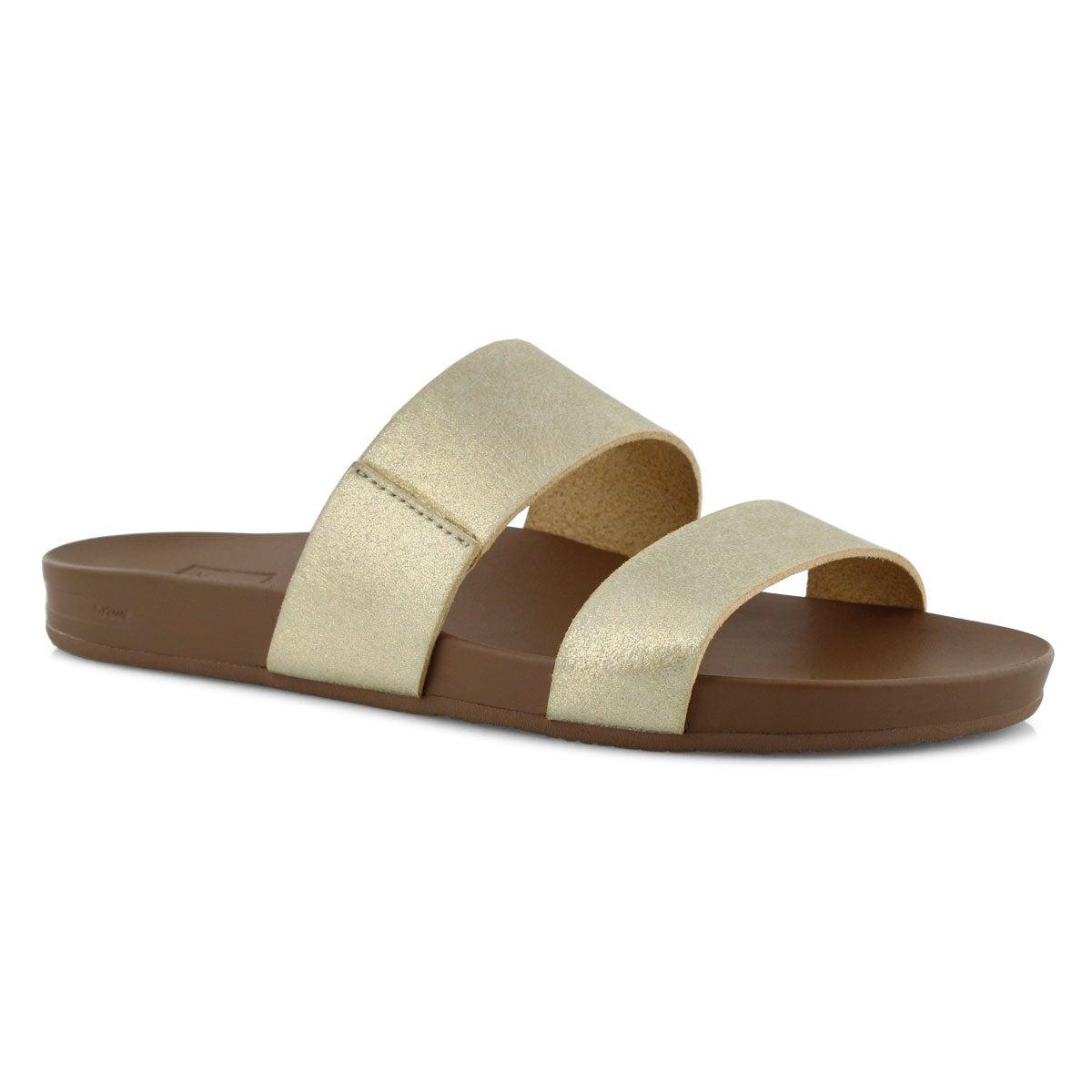 5e872e2ea8e3 Reef Women s Cushion Bounce Vista Slide Sandal