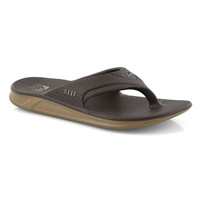 Mns Reef One brown thong sandal