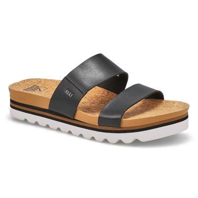 Sandale,CushionVistaHi,noir,fem