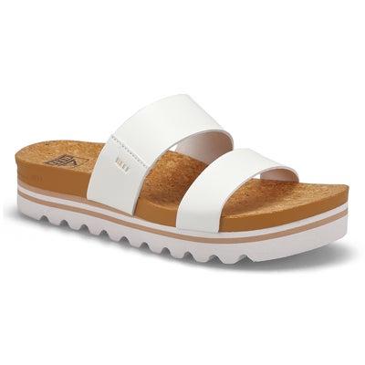Sandale,CushionBounceVistaHi,blanc,fem