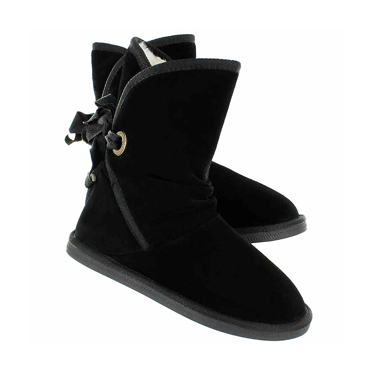 Botte su�de noir RIBBON JR, fil