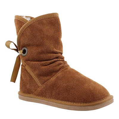 SoftMoc Women's RIBBON 2 chestnut suede lined boots
