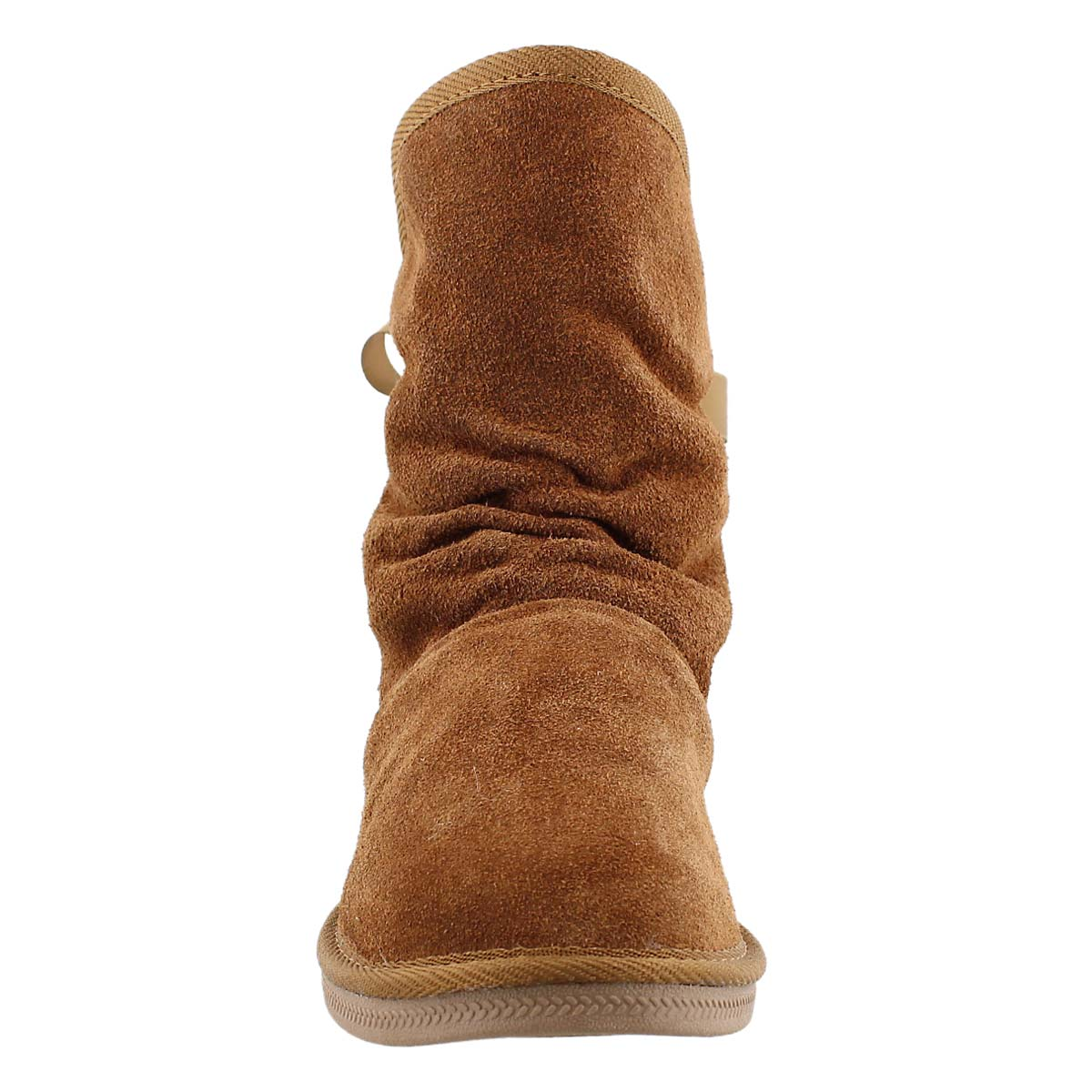 Lds Ribbon 2 chest suede lined boot