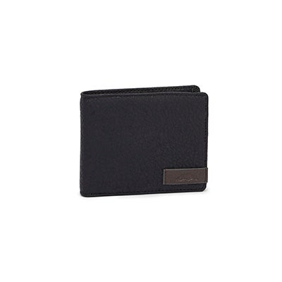 Roots Men's TRACKER black/charcoal wallet