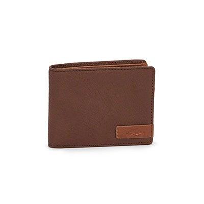 Roots Men's TRACKER brown/cognac wallet