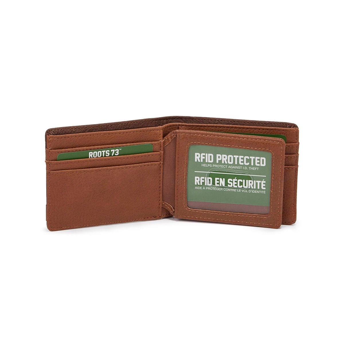 Mns Tracker brown/cognac wallet
