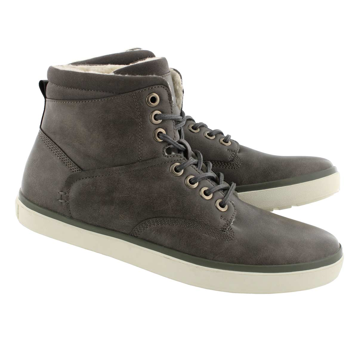 Mns Roadster grey lace up ankle boot