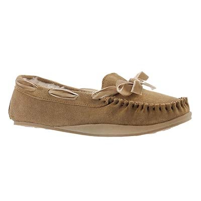 SoftMoc Women's ROCHELLE hashbrown suede moccasins