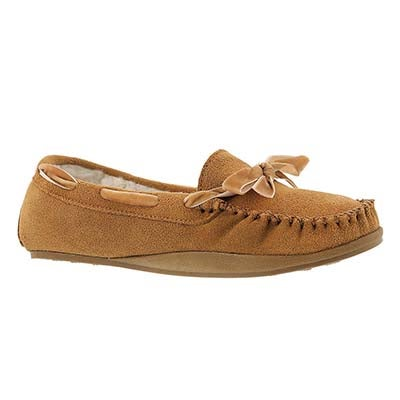 SoftMoc Women's ROCHELLE tan suede moccasins