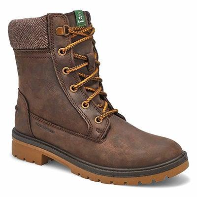 Lds Rogue dark brown wtpf winter boot
