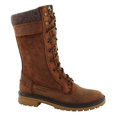 Lds Rogue 9 cognac wtpf winter boot