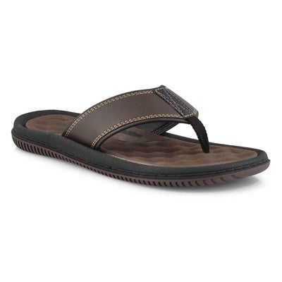 Mns Roland brown casual thong sandal