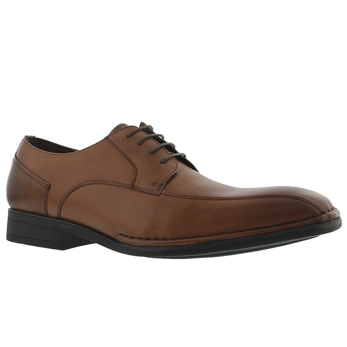 Mns Romeo cognac dress oxford - Wide