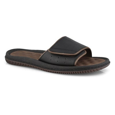 Mns Rory brown casual slide sandal