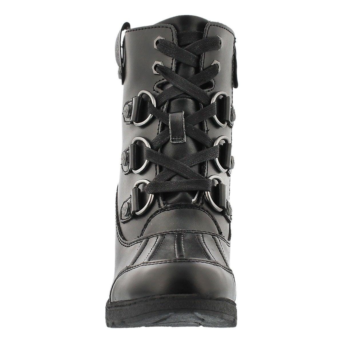 Lds Roxan black wtrpf winter dress boot