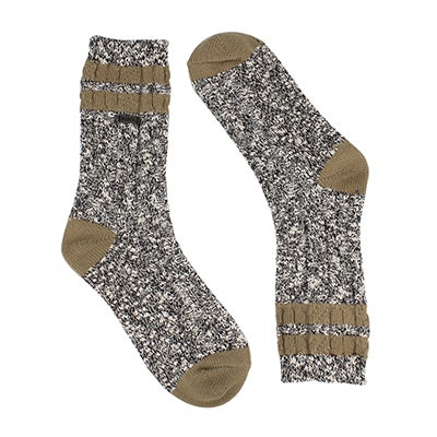 Lds VarsityStripe blk/quarry tall sock