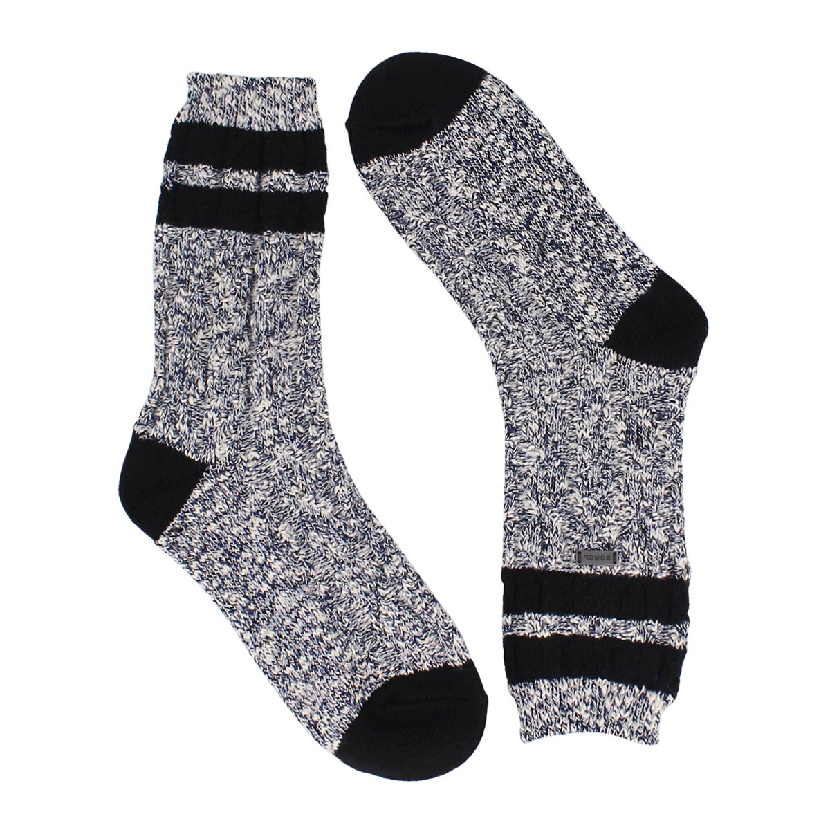 Women's VARSITY STRIPE aviation/blk tall socks