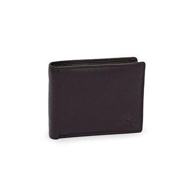 Mns Roots73 RT22552 blk folding wallet