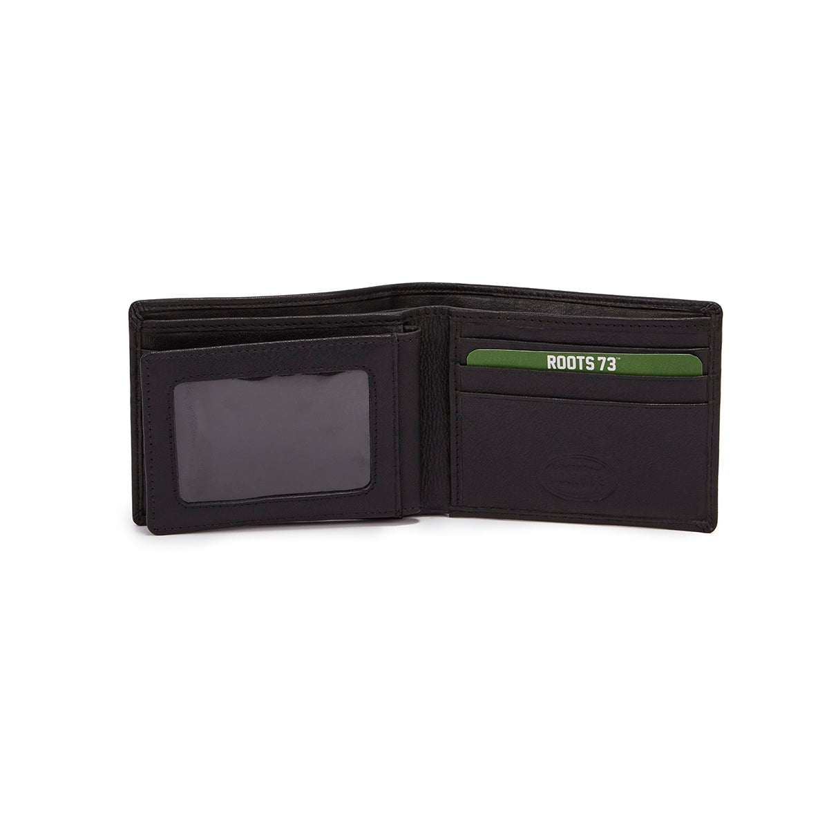 Mns Roots73 RT22552 blk folding wallet