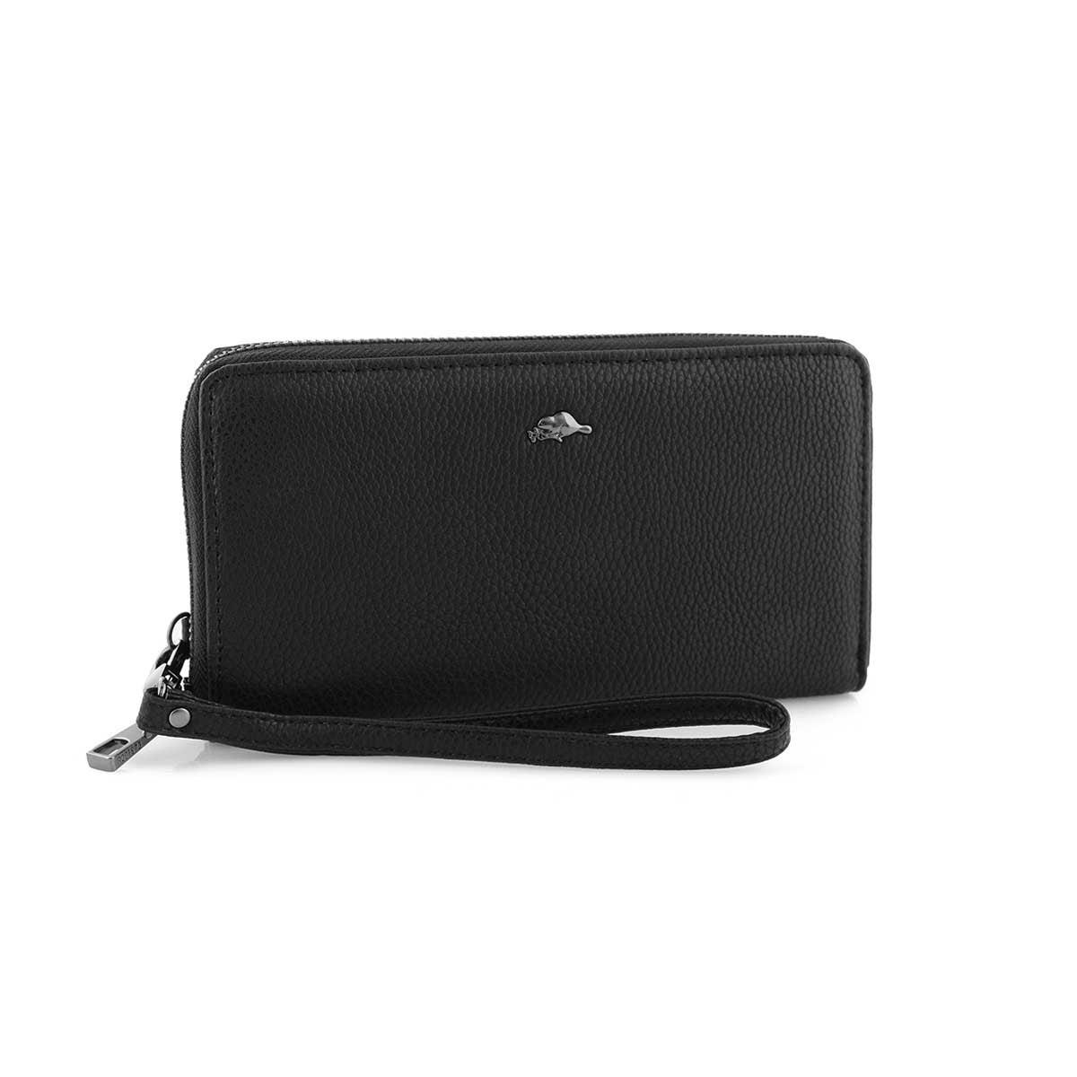 Lds Seneca black zip around wallet