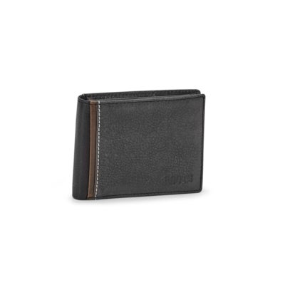 Mns North black slimfold wallet