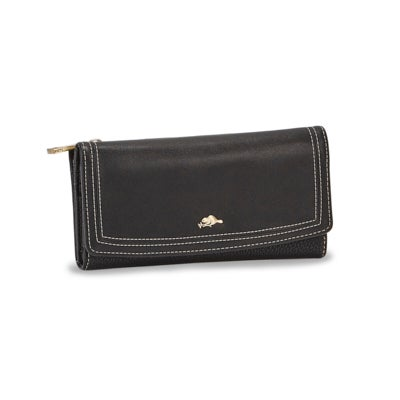 Lds Habitant black trifold clutch